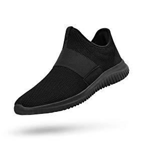 QANSI Mens Sneakers Training Gym Shoes Mesh Breathable Athletic Sports Running Walking Shoes