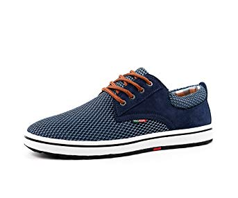 BEFAiR Men's Walking Shoes Lightweight Casual Breathable Sports Shoes Outdoor Sneakers