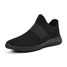 Troadlop Mens Running Shoes Breathable Walking Sports Casual Athletic Gym Sneakers